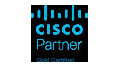 Cisco Partner Gold Certified.