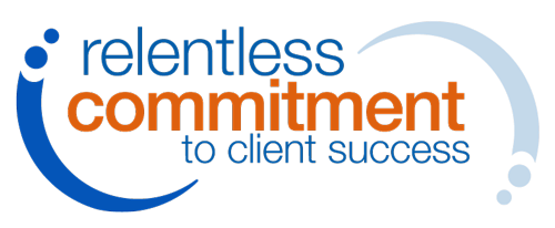 Relentless Commitment to Client Success Logo.